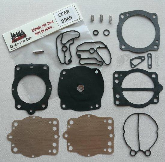 Rebuild kit for Keihin CDK II Carburetors for Polaris
