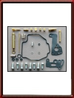 Comprehensive Service Kit for Mikuni BDS Carburetor on Yamaha XV 535 Virago  - FRONT